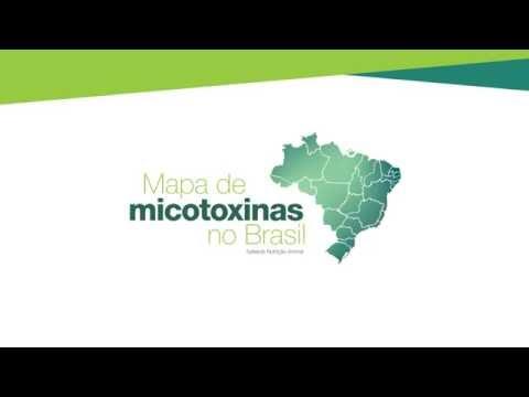 Mapa de micotoxinas no Brasil