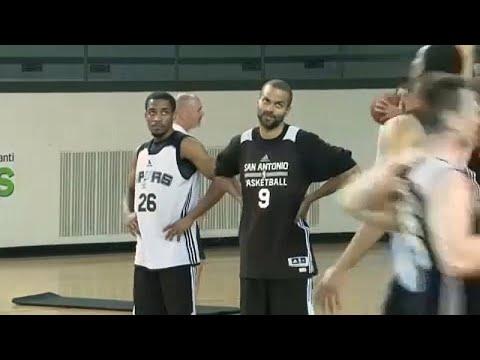 Ο κόσμος του μπάσκετ αποχαιρετά τον Τόνι Πάρκερ