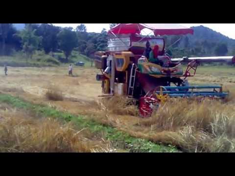 รถเกี่ยวข้าวเกษตรพัฒนา 3