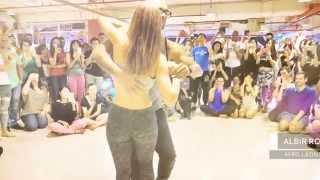 Pokazali niesamowite ruchy i pasję! Kizomba to taniec pełen pożądania!