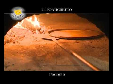 """Genova Gourmet, ristorante Il Portichetto, video ricetta """"farinata"""""""