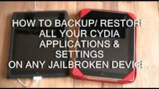 Download Lagu HOW TO BACKUP & SAVE YOUR CYDIA APPS, TWEAKS & SETTINGS ON A JAILBROKEN IPHONE, IPOD OR IPAD Mp3