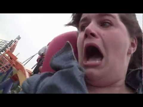 EPIC Roller Coaster Reaction!