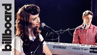 Karmin Perform 'Pumped Up Kicks' Billboard Live Studio Session