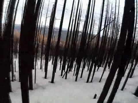 Helmet cam - Gnarl ridge fire