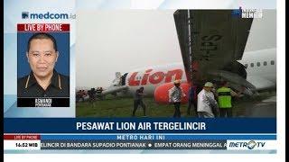 Download Video Pesawat Lion Air Tergelincir di Bandara Supadio Pontianak MP3 3GP MP4