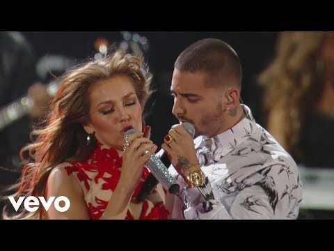 Video Thalía - Desde Esa Noche (Premio Lo Nuestro 2016) ft. Maluma download in MP3, 3GP, MP4, WEBM, AVI, FLV January 2017