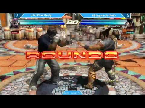P.V.G.F. Tekken Tag 2 Offline casual match between Ali Khan vs  Killinghawk