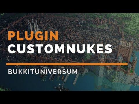 CustomNukes ✩ Bomben mit Einstellungsmöglichkeiten