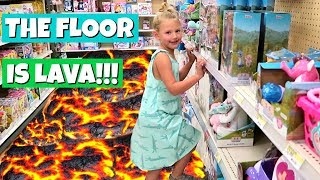 Don't forget to subscribe! http://www.youtube.com/theweisslifeIn today's family vlog - The kids play the floor is lava challenge during a fun family shopping trip!*Follow us on Instagram, Facebook and Twitter to stay up to date on our family and the new baby!Instagram: http://www.instagram.com/theweissfamFacebook: http://www.facebook.com/theweisslifeTwitter: http://twitter.com/TheWeissLifeMusical.ly: The Weiss LifeVideo filmed with: Canon PowerShot G7 X Mark II http://amzn.to/2iPmFMO (Affiliate link)Support us on Patreon: https://www.patreon.com/theweisslifeSend Us Mail!The Weiss Life69 Lincoln Blvd. Suite-A #267Lincoln, CA 95648THE WEISS LIFE is a fun family vlog channel that features the Weiss family! We do fun Challenges, Giveaways, Family Vlogs, Mommy & Pregnancy Vlogs, Build A Bear, Toys, Holidays like Halloween, Christmas & Easter, Birthday Parties, Gymnastics, Sidewalk Super Girls Superhero Skits, Costume Fashion Shows, videos from our Travel Adventures and other Family Fun!Production Music courtesy of  www.epidemicsound.com