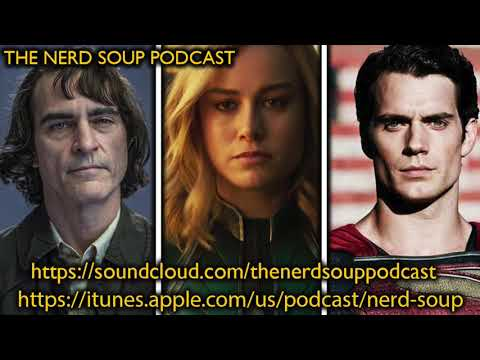 Captain Marvel Trailer, Joaquin Phoenix Joker Pics & Henry Cavill Out As Superman!