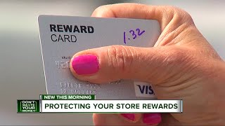 Protecting your store rewards