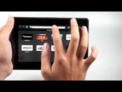 Tinhtevn – Sơ lược BlackBerry PlayBook