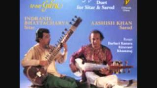Duet Sitar&Sarod (3) Raga Khammaj -  I.Bhattacharya&Aashish Khan