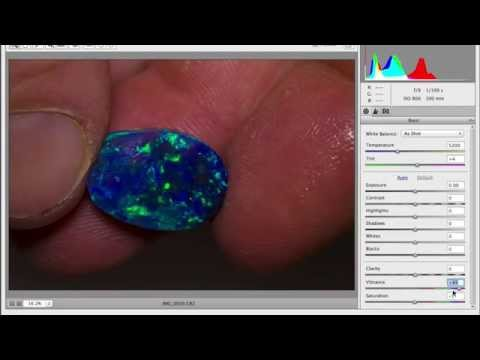 Enhanced and Photoshopped Opal