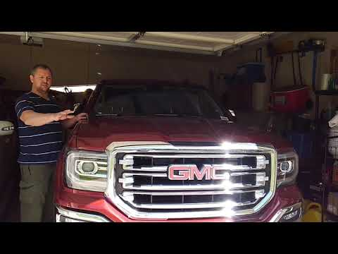2018 GMC Sierra Windshield Replacement Features