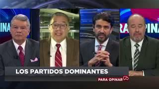"""Para Opinar: """"Los partidos dominantes""""."""