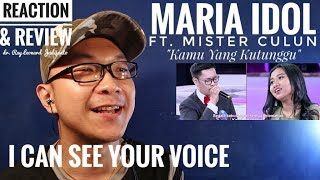 Video MARIA INDONESIAN IDOL ft. MISTER CULUN - KAMU YANG KUTUNGGU I Can See Your Voice - REACTION & REVIEW MP3, 3GP, MP4, WEBM, AVI, FLV Juli 2018