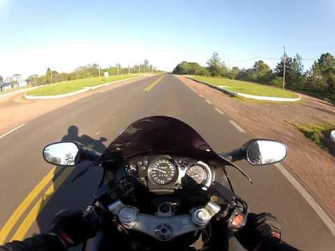 Saindo do encontro de moto em Charqueadas