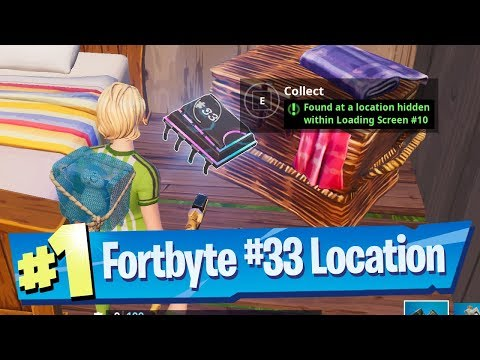 Fortnite Fortbyte #33 Location - Found At A Location Hidden Within Loading Screen #10