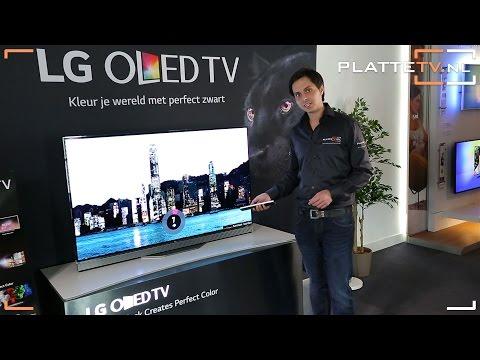 Видео Телевизор LED LG OLED65E6V