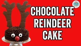 REINDEER CHOCOLATE CAKE RECIPE by  My Virgin Kitchen