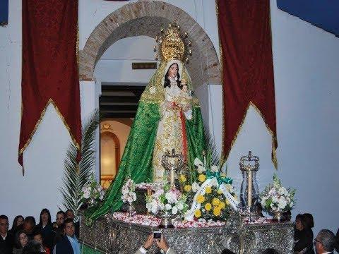 Recuerdos: Llegada Virgen Esperanza (La Redondela) tras su restauración 19 Febrero 2017