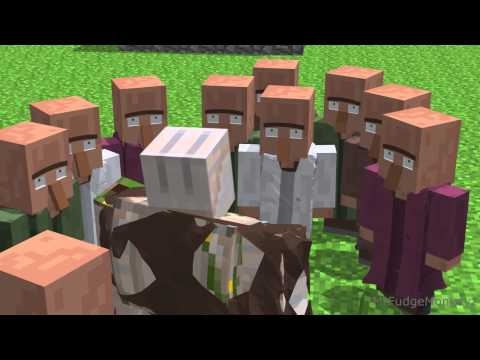 Annoying Villagers - Minecraft Animation
