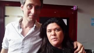 Video Olivier Tonneau et Raquel Garrido - 13 mai 2017 MP3, 3GP, MP4, WEBM, AVI, FLV Mei 2017