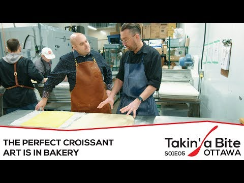 Takin' A Bite - Ottawa - Art Is In Bakery - The Perfect Croissant