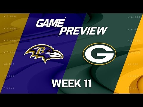 Video: Baltimore Ravens vs. Green Bay Packers | NFL Week 11 Game Preview