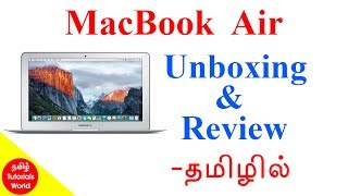 MacBook Air Unboxing and review Tamil Tutorials World_HD
