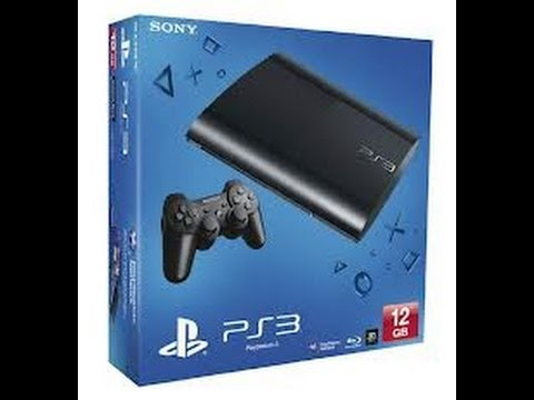 PS3 Super Slim 12GB Unboxing