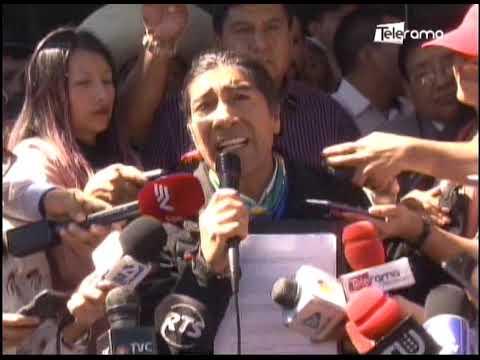 Indígenas de la Costa y Galápagos apoyan la pre-candidatura de Yaku Pérez