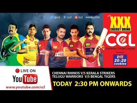 Chennai Rhinos and Kerala Strikers Match - Full Video