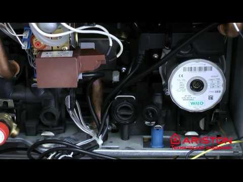 Зауск газового котла: циркуляционный насос