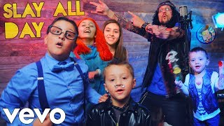 Video FUNnel Vision 🎵 SLAY ALL DAY (Official Music Video) MP3, 3GP, MP4, WEBM, AVI, FLV Maret 2018