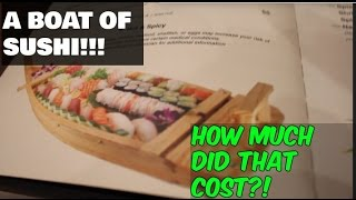 THE MOST EXPENSIVE SUSHI