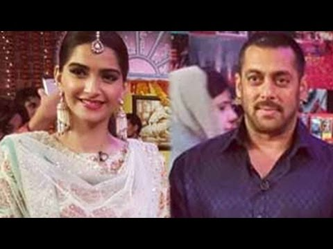 Salman Khan And Sonam Kapoor Show Their Funny Side