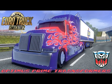 Wester Star 5700 Optimus Prime for 1.24