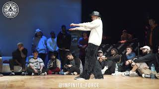 Fire Bac vs Inxi – INFINITE POPPING 2019 STYLES&CONCEPTS FIRST STAGE