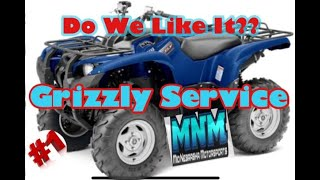 2. Yamaha Grizzly 550 Overview - Review -  common issues problems - HOW TO SERVICE