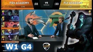 Video Echo Fox Academy vs FlyQuest Academy | Week 1 of S8 NA Academy League Spring 2018 | FOXA vs FLYA MP3, 3GP, MP4, WEBM, AVI, FLV Agustus 2018