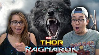 "Thor Ragnarok Official Trailer 2 Reaction SDCC Comic Con 2017 Review Discussion Analysis by Marvel Studios ""Thor: ..."