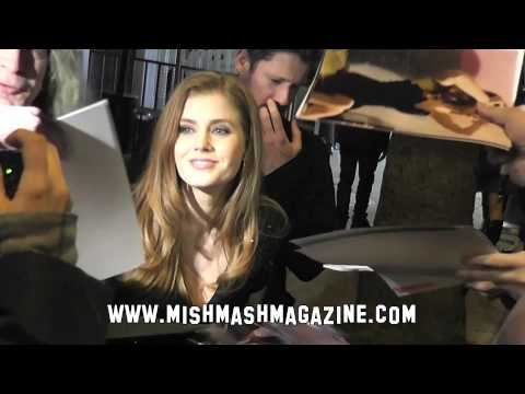 Amy Adams Signs Autographs at Party
