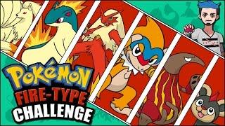 FIRE POKÉMON CHALLENGE | Pokémon Naming Challenge by Ace Trainer Liam