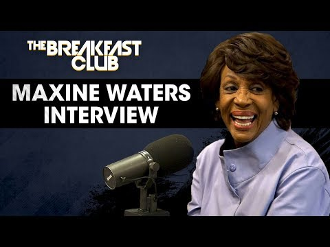 Maxine Waters Reclaims Her Time On The Breakfast Club, Talks Hip-Hop Censorship, Gun Laws & More W/The Breakfast Club