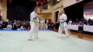 Moe Australia  City pictures : 2016 Australian Kyokushin Nationals - Daniel de Freitas Pessoa Moe Derballa