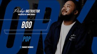 Boo – Pickup Instructor @ DANCEWORKS