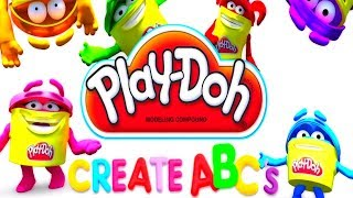 Play DOH Learning videos for kids - Learn abc for kids with play doh Letter A, B and C